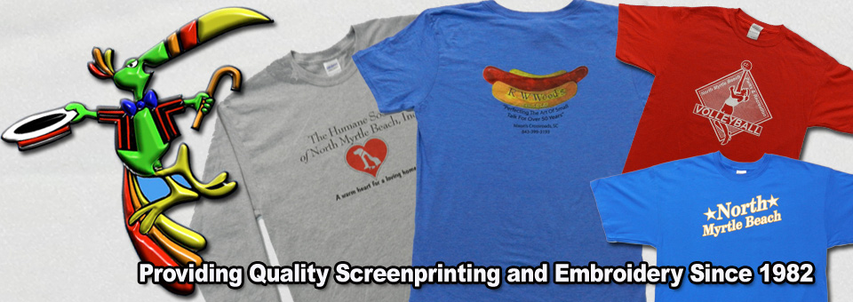 Toucan Screenprinting – North Myrtle Beach Screenprinting